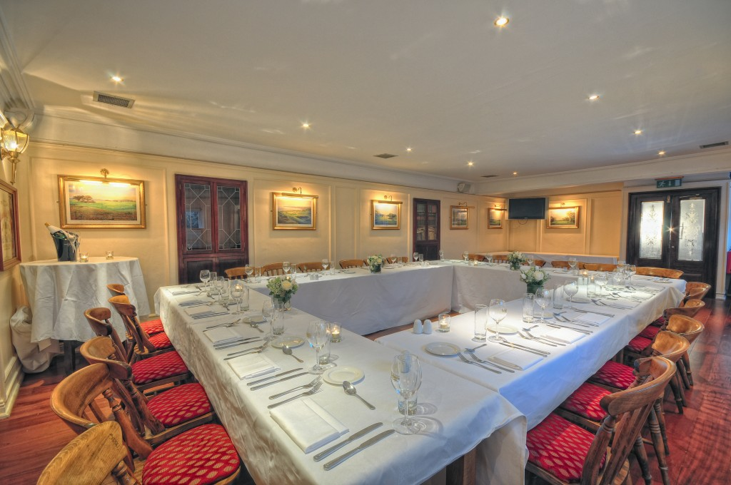 The Dodder function room
